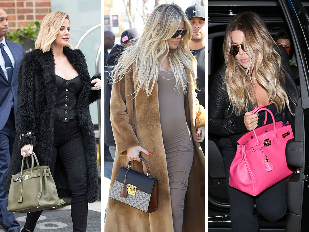 7fa30da5c029 Khloé Kardashian Just Had a Baby  Here are Some Pics of Her Handbags ...