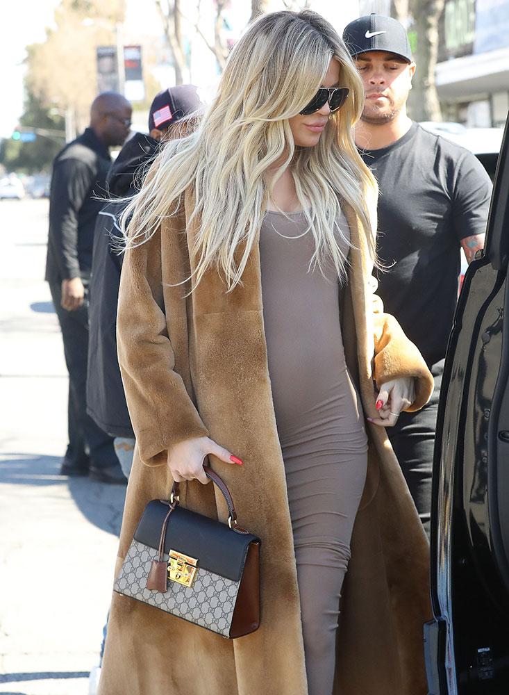 83ec6d73f500 Khloe-Kardashian-Gucci-Padlock-Top-Handle-Bag - PurseBlog