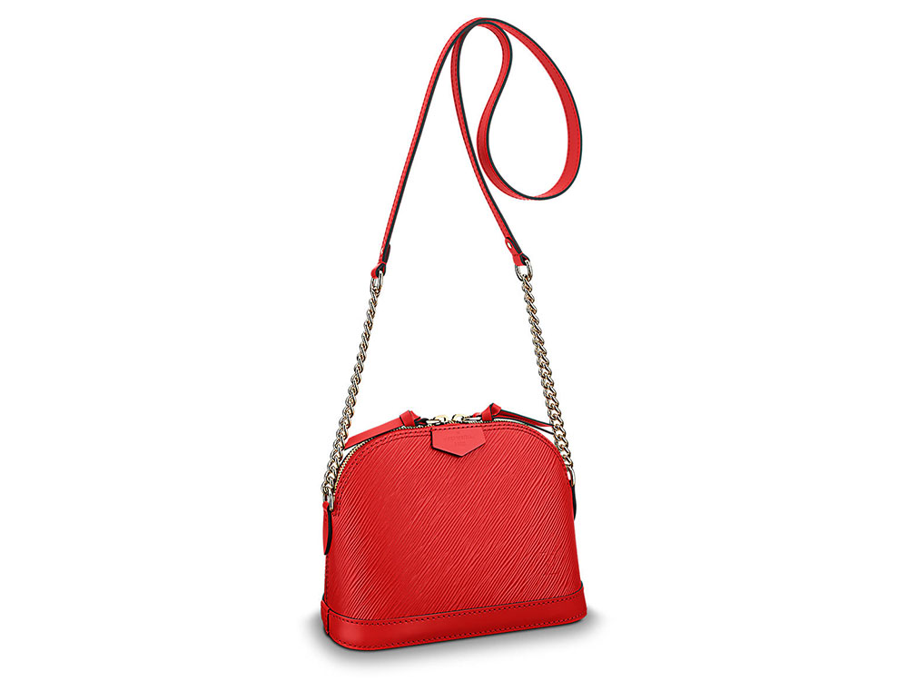 Louis Vuitton Debuts a Brand New Alma Bag—With No Top Handles ... 9b91896133624