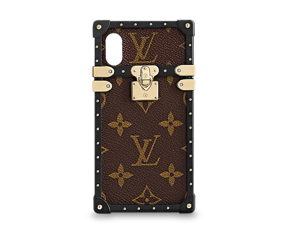 promo code 28604 b607e Louis-Vuitton-Eye-Trunk-iPhone-X-Case-Monogram - PurseBlog