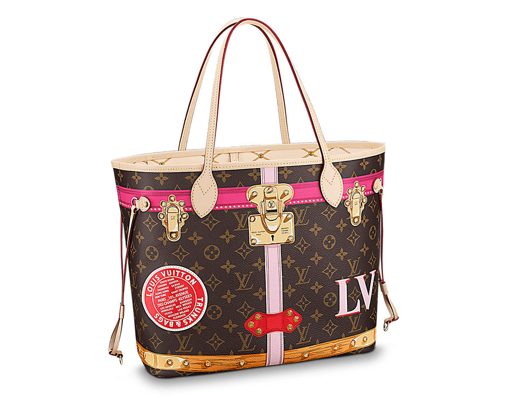 e94c756a0318 Louis Vuitton s Summer 2018 Capsule Collection Reimagines the Brand s  Classic Bags with Cartoon Details