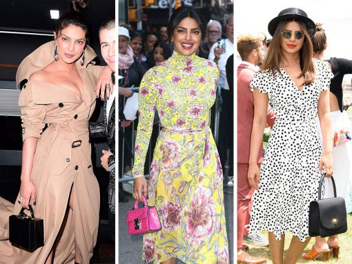 Priyanka Chopra's Colorful, Modern Taste in Bags Delights and Surprises