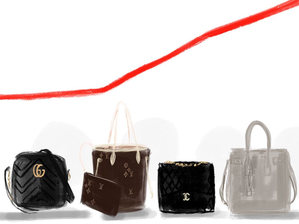 82fc556297447f Did Your Favorite Bag Get a Price Increase for Spring 2018? - PurseBlog