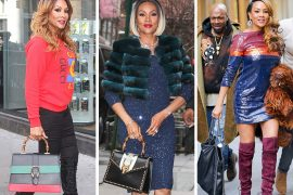 Vivica A. Fox's Various Press Tours Remind Us She Has Excellent Bags