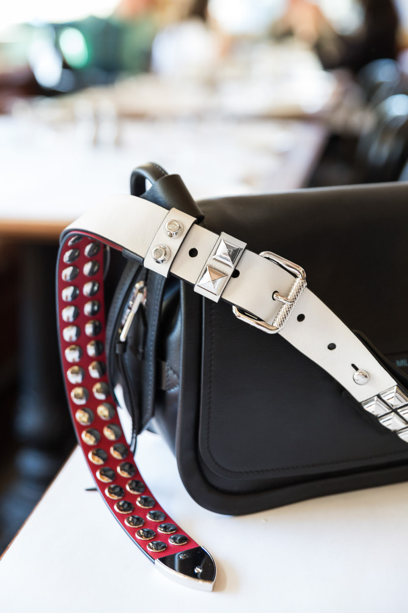 1fd84cc97fae Prada's Concept Collection features classic shapes in soft Prada calf  leather. Some of the bags, including the two we shot, are adorned with  exaggerated ...