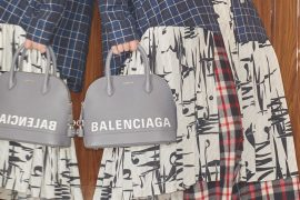 Balenciaga's Resort 2019 Bag Collections Lets Everyone Know Exactly Who Made It