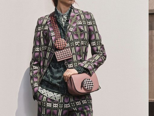 Bottega Veneta Continues to Explore Fun New Territory with New Shapes and Structures for Resort 2019