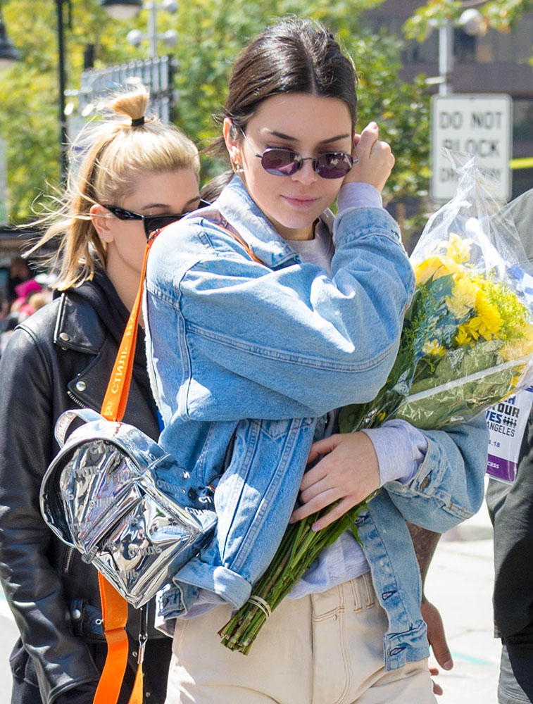 Kendall Jenner Sure Has Been Carrying Some Weird Bags Recently ... afbf498542