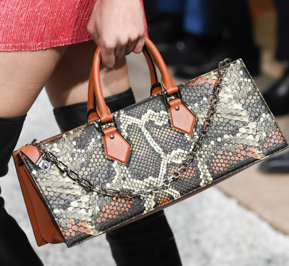 bf7881acf5bc Louis Vuitton s Cruise 2019 Runway Bags Include a Cute Collab with ...