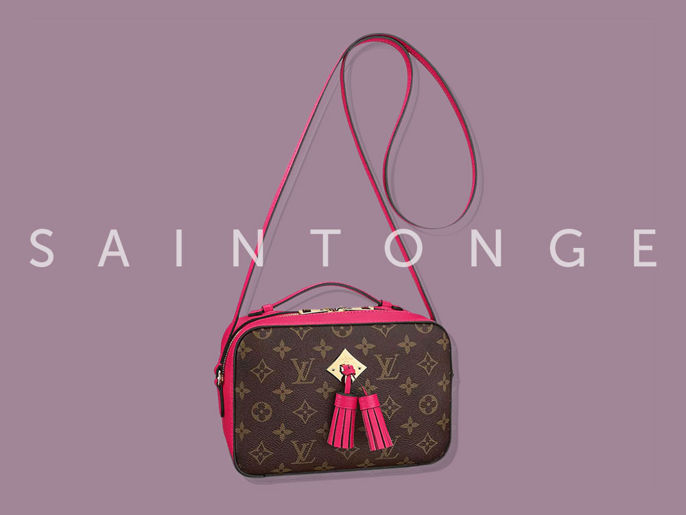 5f6bf144726d The Louis Vuitton Saintonge Bag is the Brand s Latest Monogram Hit ...