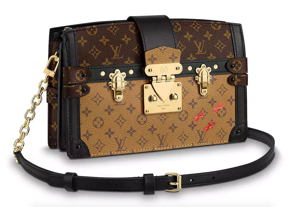 254b62d4f8 The New Louis Vuitton Trunk Clutch Tries to Make a Popular Clutch a ...