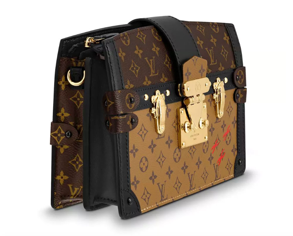 237d254be099c The New Louis Vuitton Trunk Clutch Tries to Make a Popular Clutch a ...