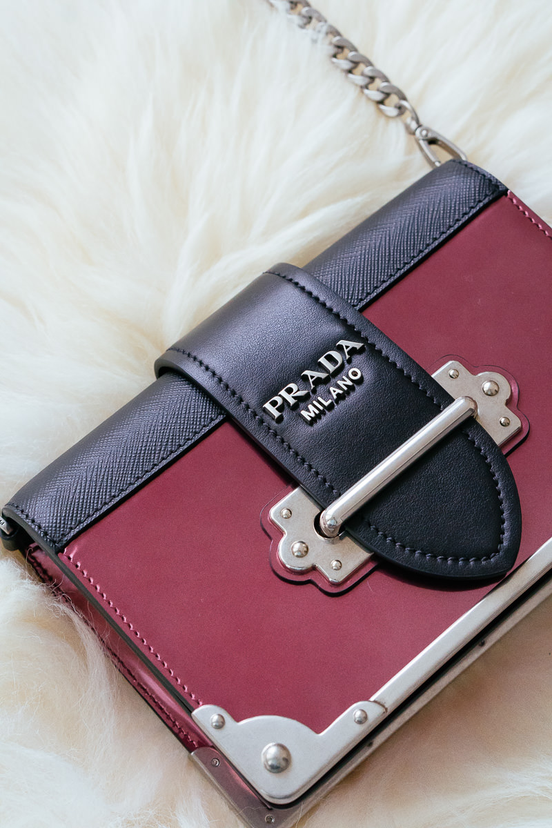 What Fits: Prada Cahier Small Crossbody Bag