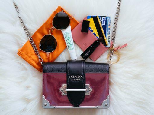 What Fits: Prada Cahier Small Crossbody Bag