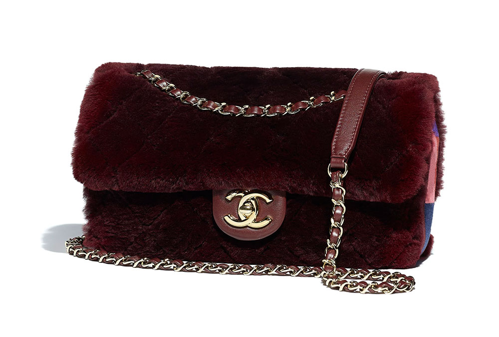 04532c91235e Chanel-Flap-Bag-Fur-Burgundy-5600 - PurseBlog