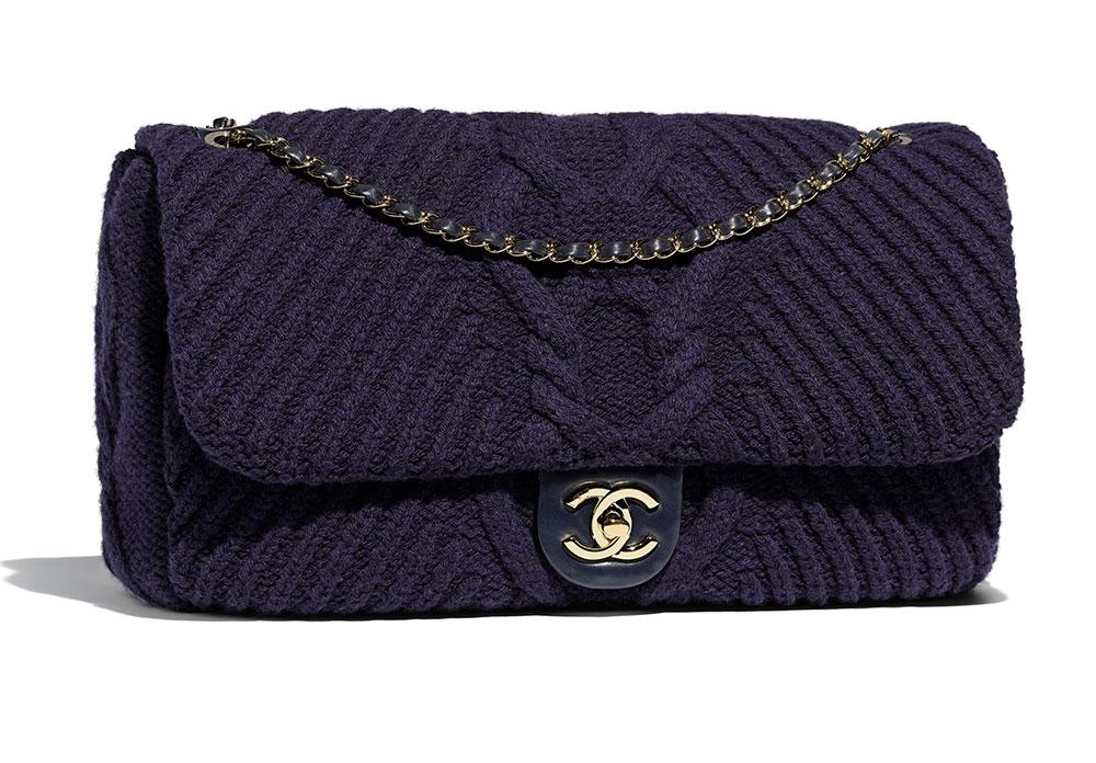 b84810b6f8d0 Chanel-Flap-Bag-Knit-Navy-5200 - PurseBlog
