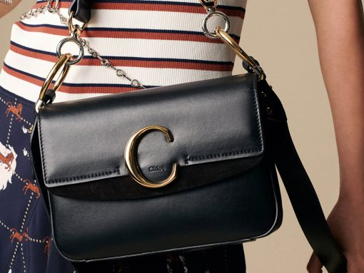 Get Ready for Chloé Logo Bags of Several Types for Resort 2019