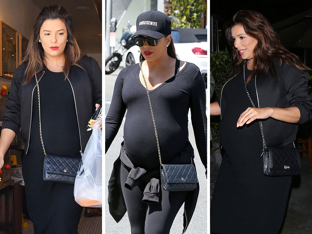 349f8c5e1e3bf7 Just Can't Get Enough: Eva Longoria and Her Chanel WOC Bags - PurseBlog