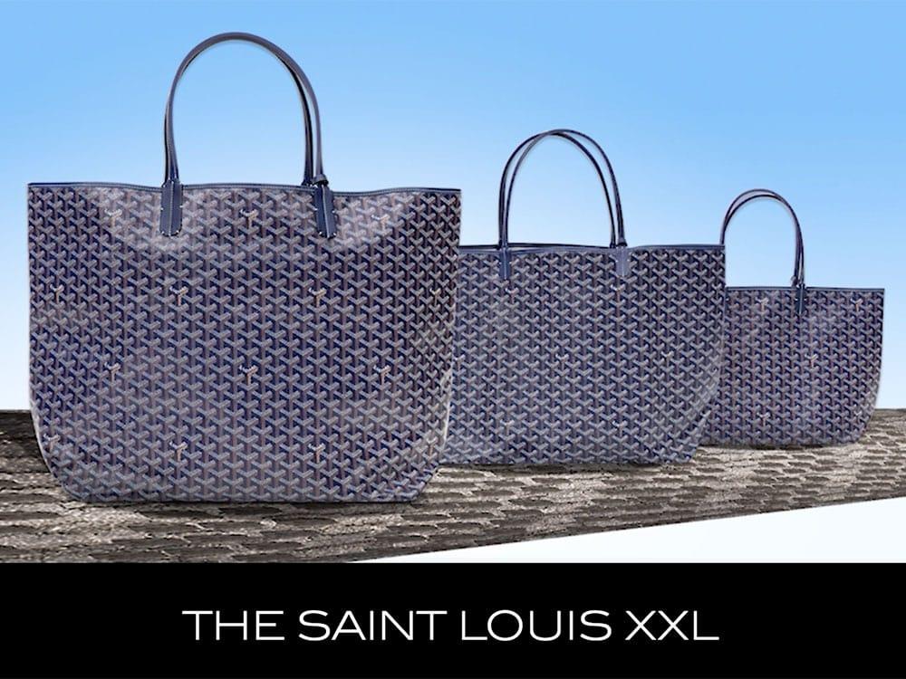 The Super Por Goyard Saint Louis Tote Now Comes In A Brand New Size Purseblog