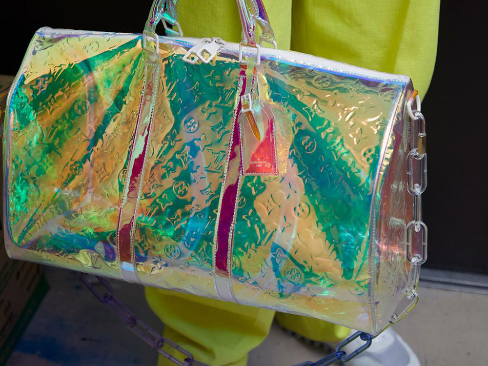 26742ee1b451 Louis Vuitton s First Collection Under Designer Virgil Abloh Will  Apparently Include Holographic Bags
