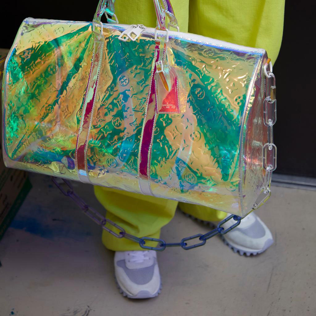 Louis Vuitton's First Collection Under Designer Virgil Abloh Will Apparently Include Holographic Bags