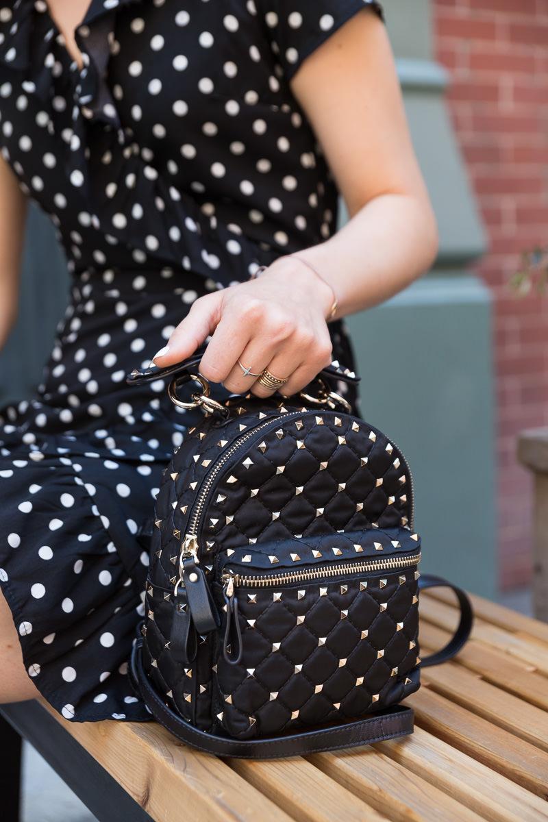 f93c0a4e39 Loving Lately: The Valentino Rockstud Mini Backpack - PurseBlog