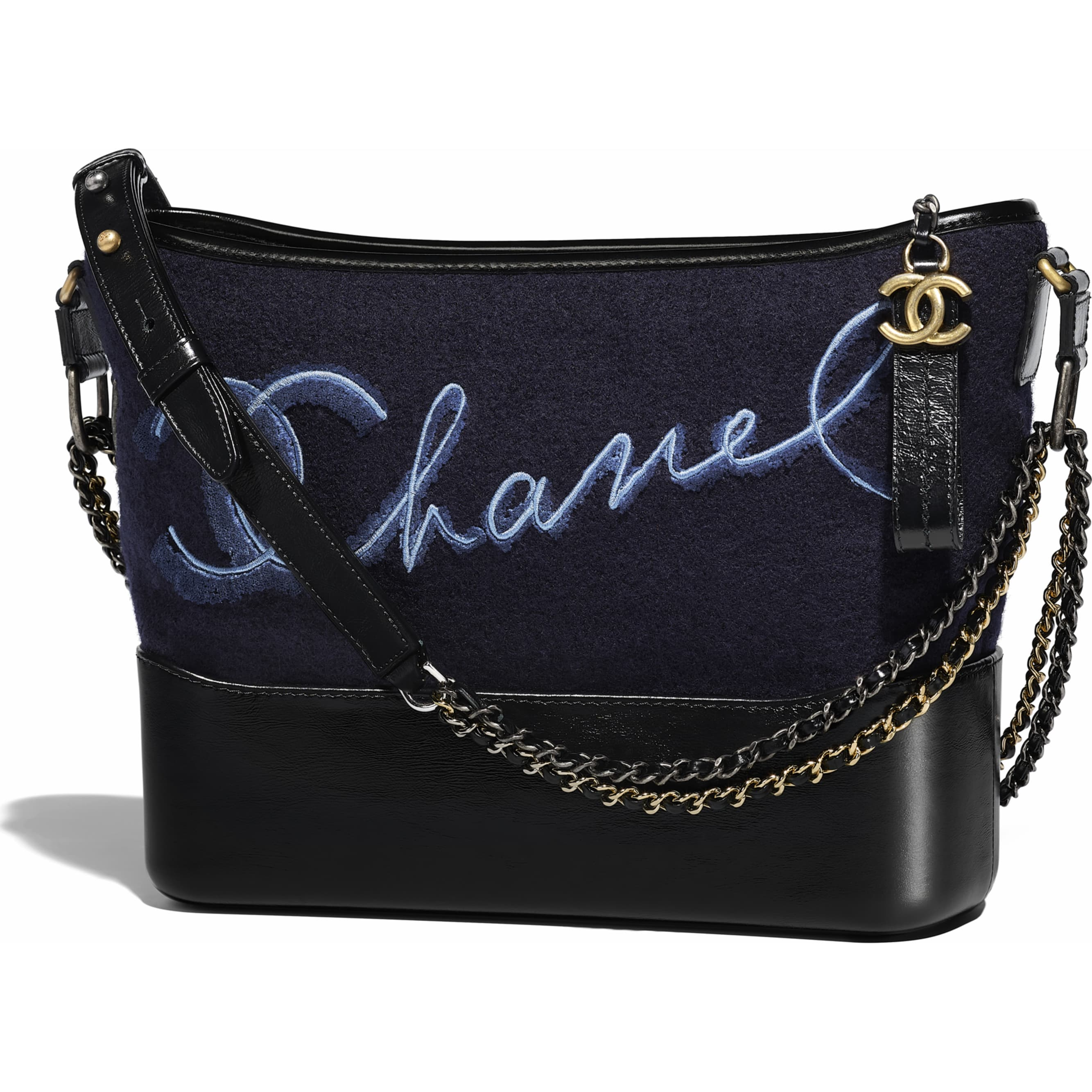1aaf5e2916 chanel-s-gabrielle-hobo-bag-navy-blue-blue-embroidered-wool-calfskin ...