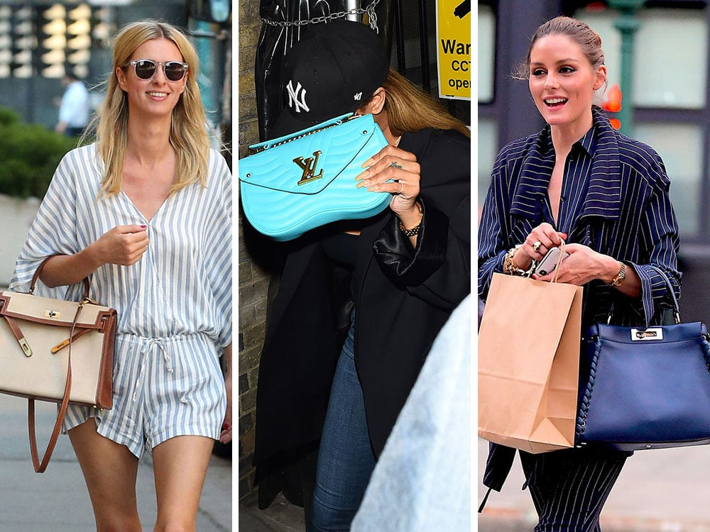 81636acbf48 Brand New Saint Laurent and Louis Vuitton Bags are Celebs' Top Picks ...