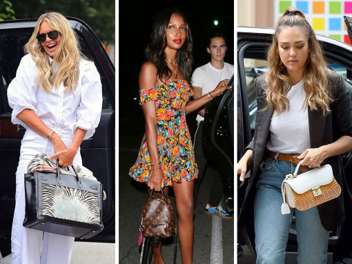 Gucci, Louis Vuitton and Mark Cross Fulfill Celeb Press and Party Bag Needs