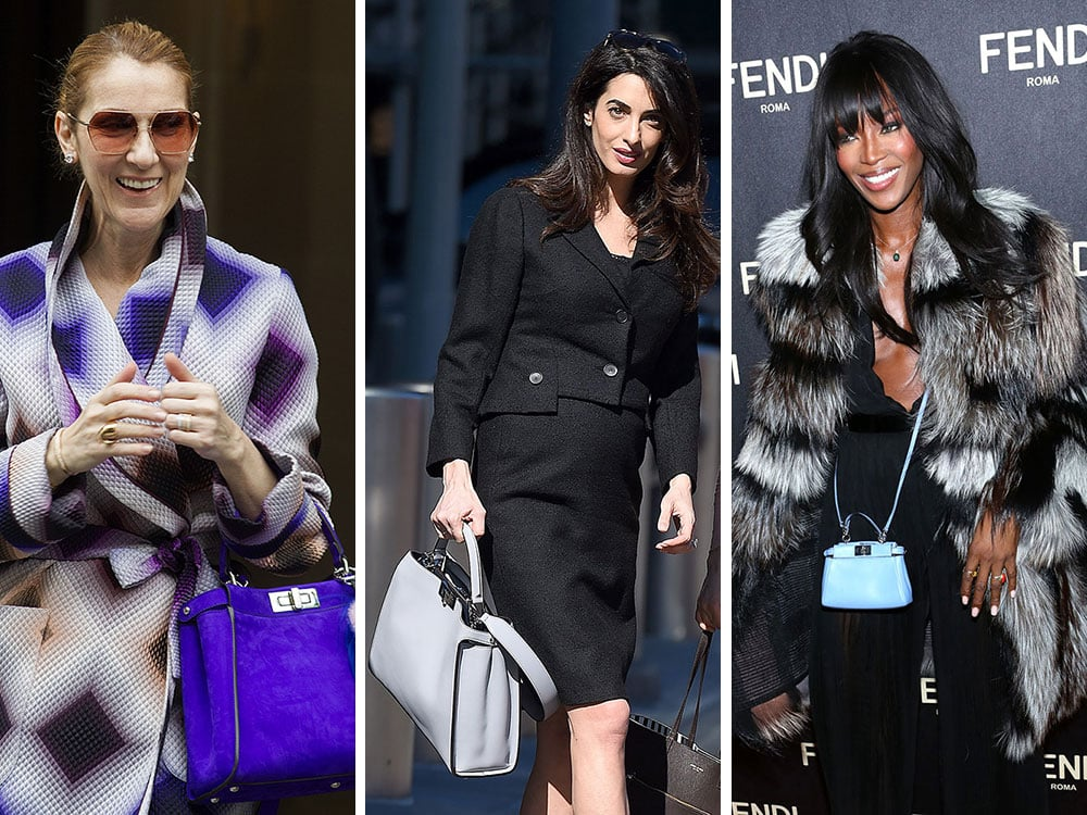c3f8e3dd99b 45 Celebs Prove the Fendi Peekaboo is the Low-Key Luxury Bag That Fits Any  Personal Style
