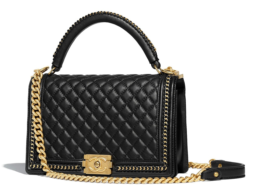 a8242cf9fe7f Chanel-Boy-Bag-with-Top-Handle-Black-7000 - PurseBlog