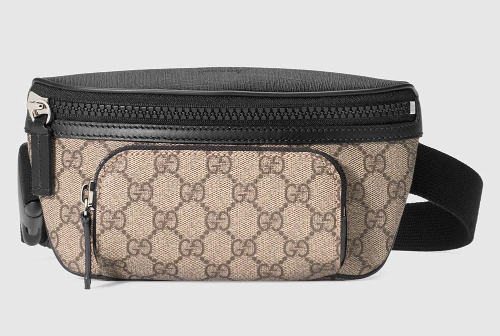 7ace0eec27 Gucci-GG-Supreme-Belt-Bag - PurseBlog