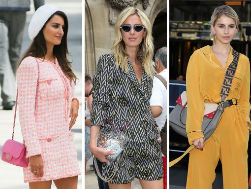 The 30 Best Celebrity Bags of Paris Haute Couture Week Fall 2018