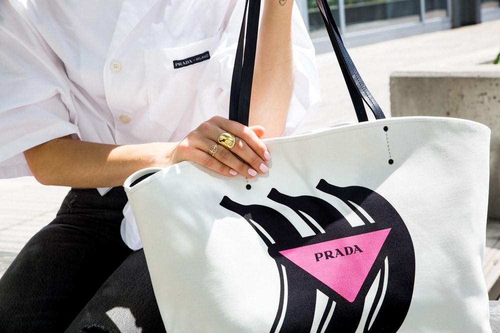 a40ca13aab51 For Fall 2018, Prada's Bags Feel Youthful and Fun - PurseBlog