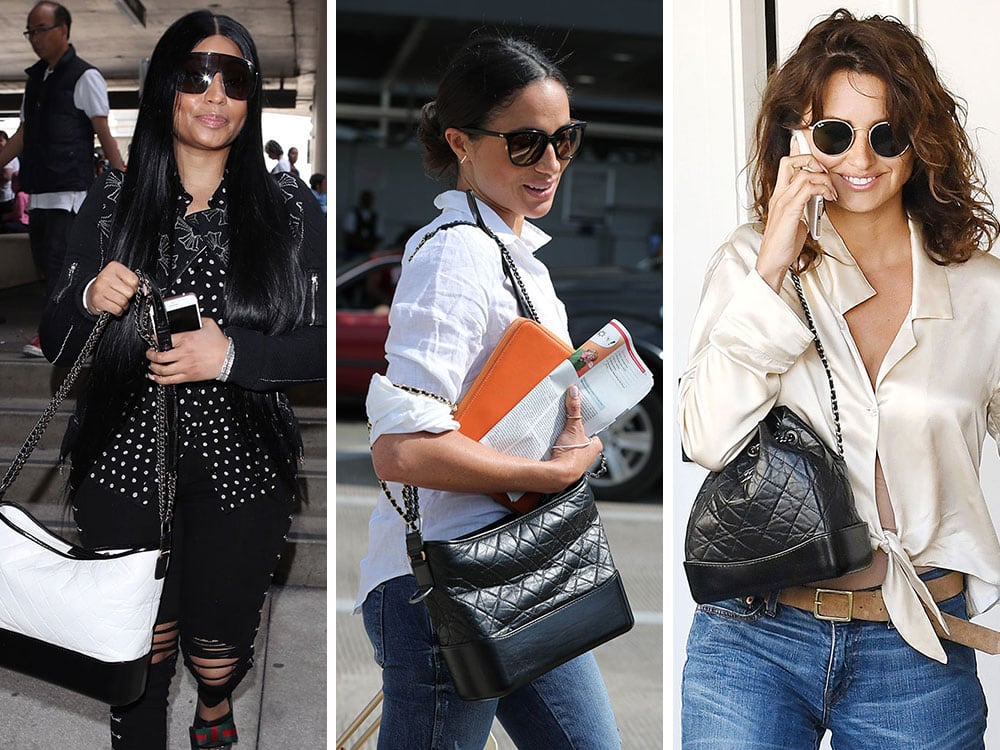 a8e8cacd6210 The Chanel Gabrielle Bag Has Proved to Be The Brand's Latest in a Long Line  of Celebrity Hits