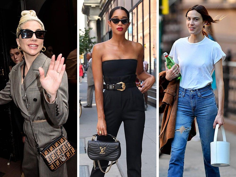 38edf59bd6de The Best Celebrity Bag Looks of Summer 2018