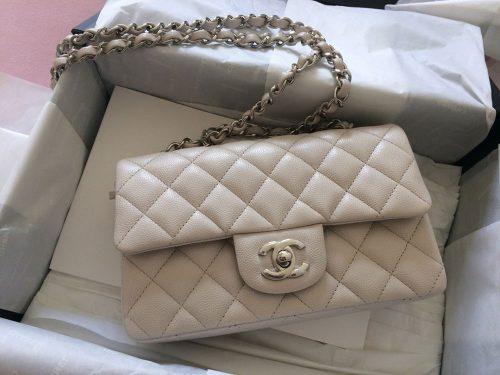 bbf3675327d9 Chanel-Mini-Classic-Flap-Bag-White - PurseBlog