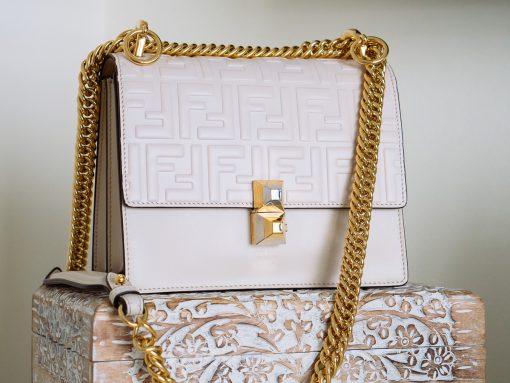 What Fits: The Fendi Small Kan I Shoulder Bag