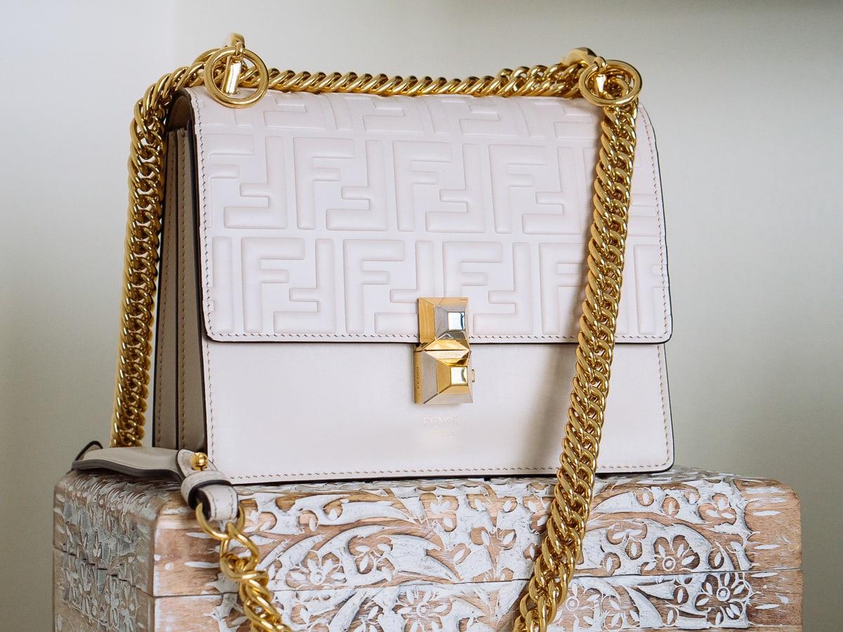 ff8fcfd628 What Fits: The Fendi Small Kan I Shoulder Bag - PurseBlog