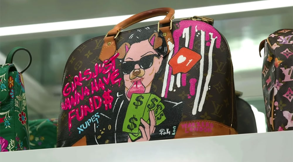 PurseBlog Asks  Would You Ever Have One of Your Bags Custom-Painted ... 210708b5b2