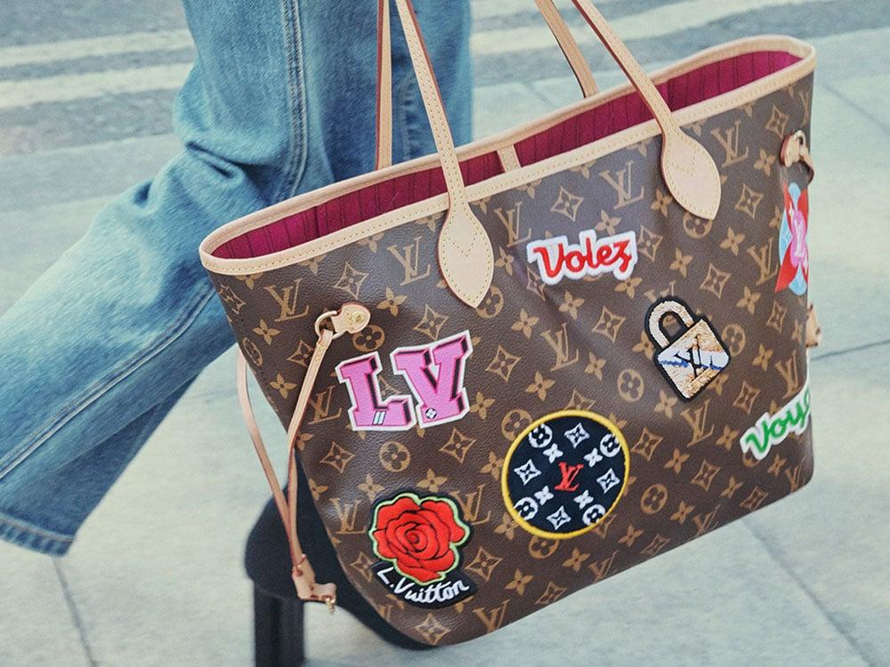 c6b2ce62ba3 Louis Vuitton Launches Brand New Patches Bag Collection - PurseBlog