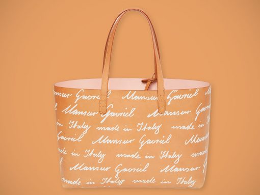 Mansur Gavriel Tries Out Its First Ever Logo Print