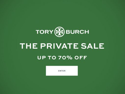 Save Up to 70% Off at the Tory Burch Private Sale!