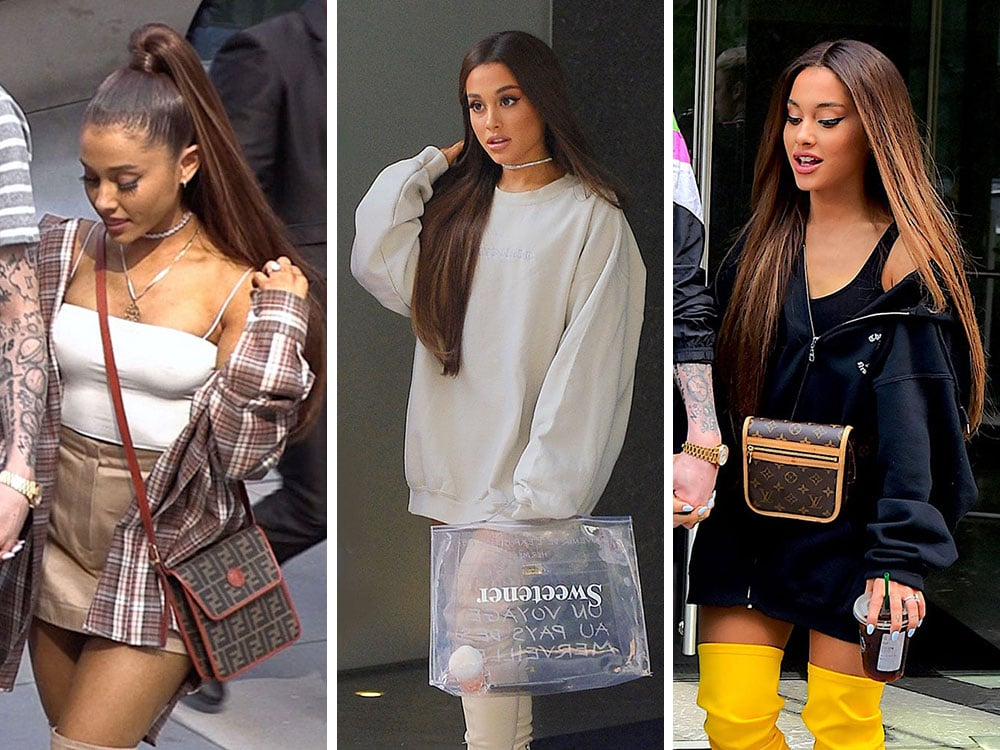172d7903614 Let s Talk About Ariana Grande s Great Vintage Bags