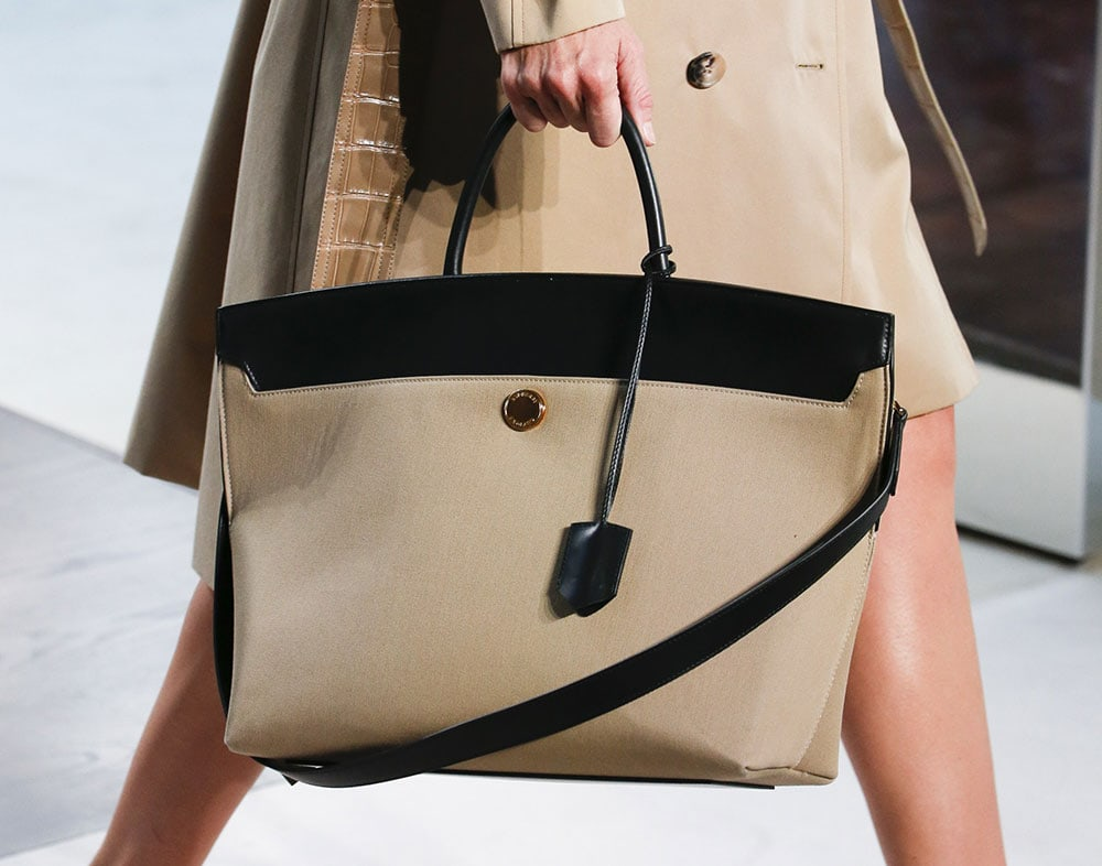c19d97336cc4 Former Givenchy Designer Riccardo Tisci Debuts His First Bags for Burberry  on the Spring 2019 Runway
