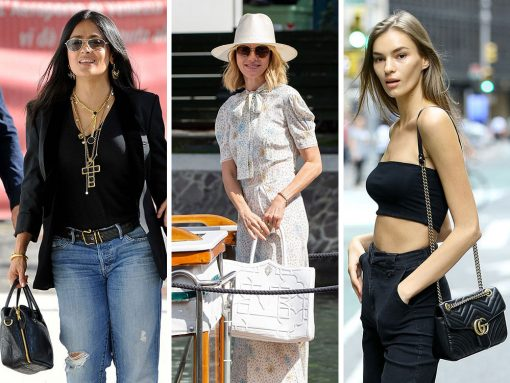 VS Angel Hopefuls and Venice Film Fest Attendees Show Us Their Bags