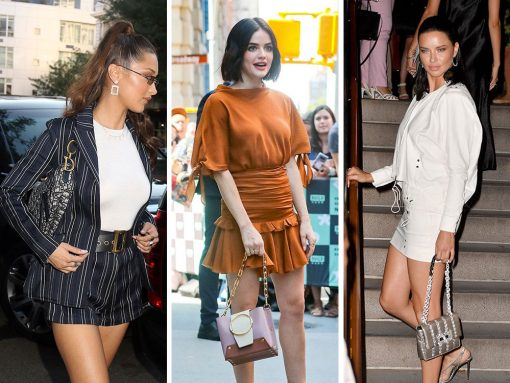 Celebs Shop Around NYC with Bags from Stalvey, Chanel and Givenchy