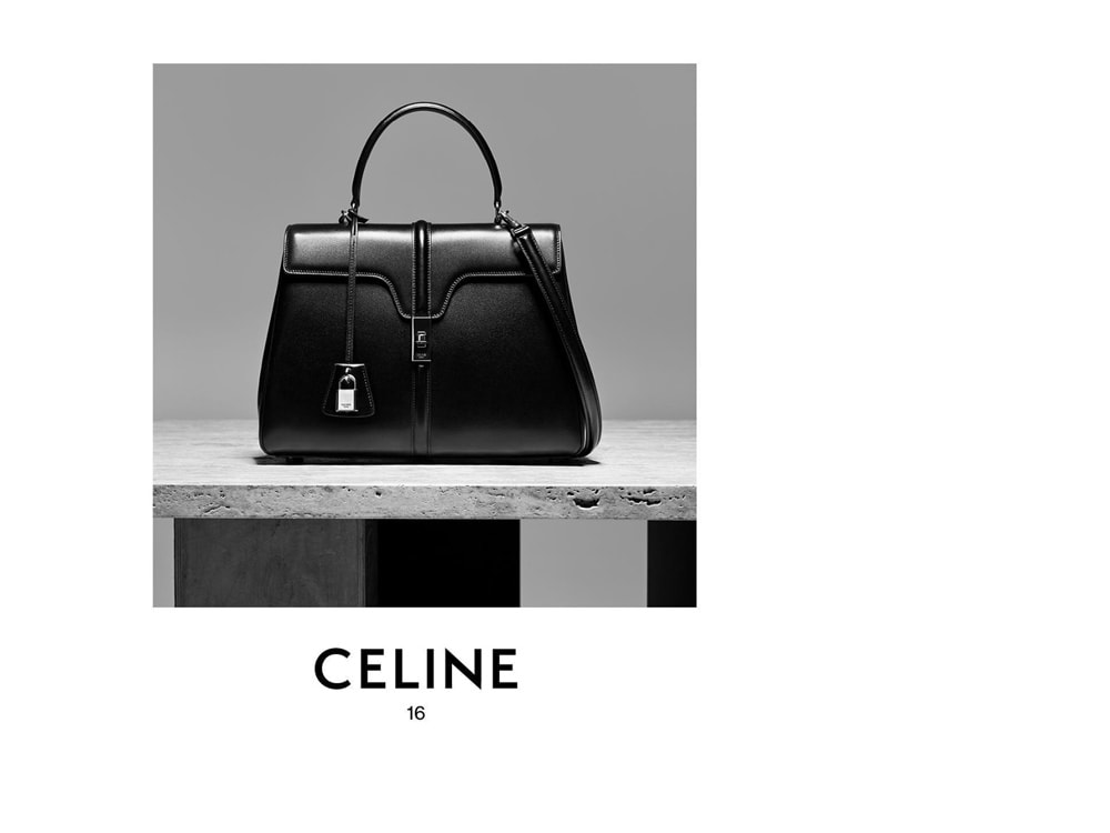 Celine Releases the Official Name of Hedi Slimane s First Bag for the Brand 3e64bb21b5b41