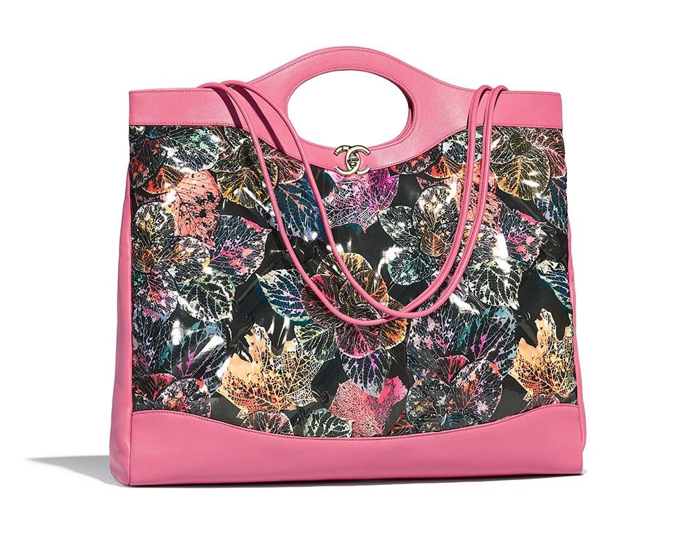 a4052ae20f76 Chanel-31-Large-Bag-Pink-Leaf-4500 - PurseBlog