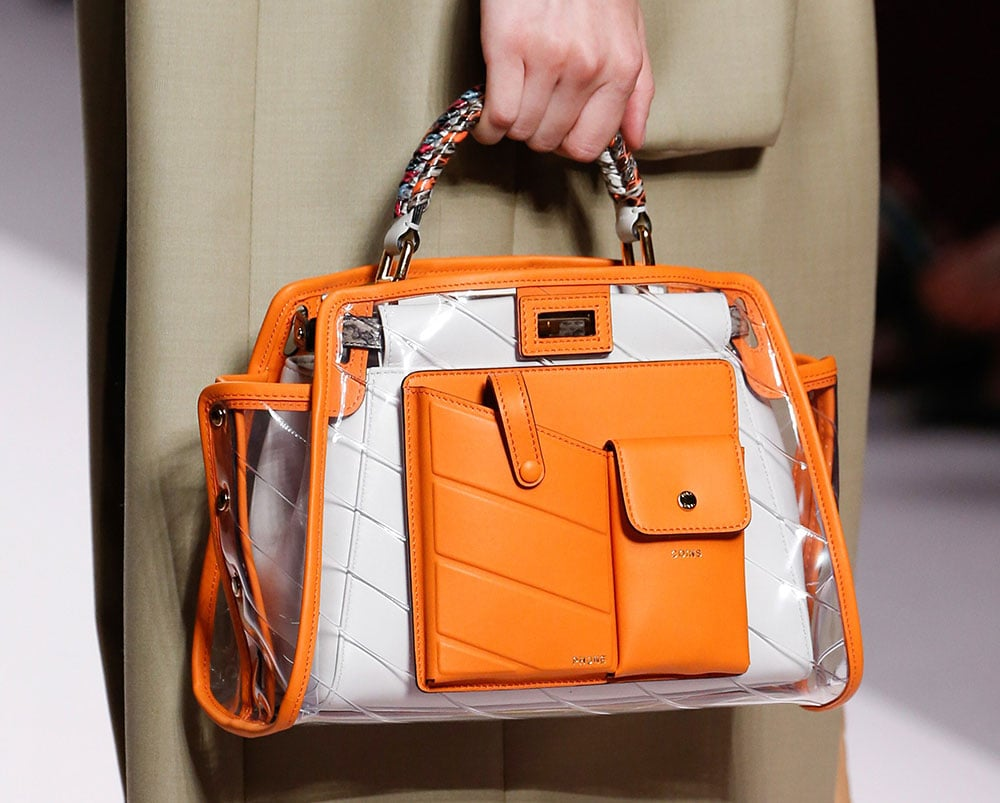 Fendi s Spring 2019 Runway Bags Emphasize Utility Pockets and ... e24c1c51b